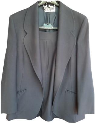 Gianfranco Ferre Blue Wool Jacket for Women