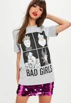 Missguided Gray Disney Villains T-shirt