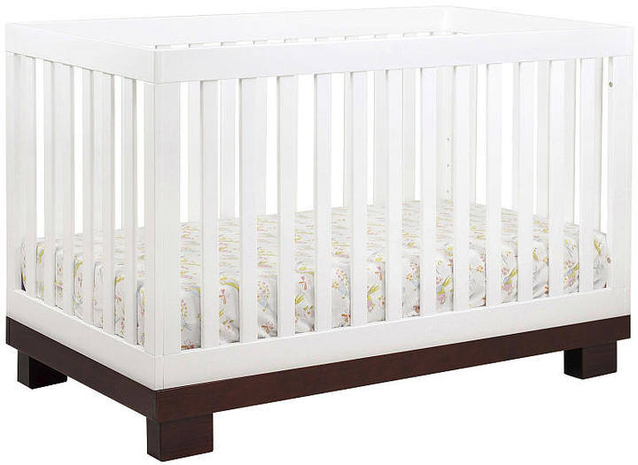 Modo Babyletto 3-in-1 Crib with Toddler Rail - Two Tone