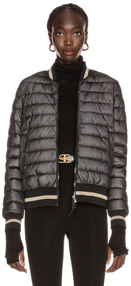 Moncler Or Giubbotto Jacket in Black | FWRD