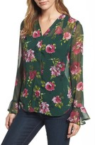 KUT from the Kloth Women's Silvy Floral Print Blouse