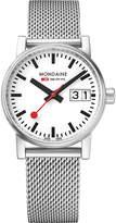 Mondaine MSE-30210-SM evo2 stainless steel watch