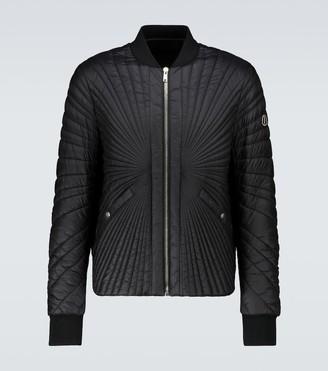 Rick Owens Moncler + Angle jacket