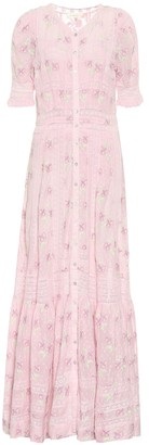 LoveShackFancy Minka floral cotton maxi dress