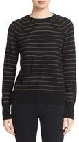 Equipment Women's 'Sloane' Stripe Wool Blend Crewneck Sweater