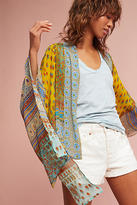 Anthropologie Sunshine Paisley Kimono