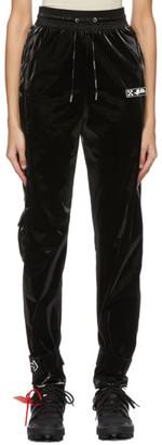 Off-White Black Velvet Lounge Pants