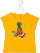 Dolce & Gabbana pineapple print T-shirt - kids - Cotton/Viscose/Polyester/Polyamide - 4 yrs