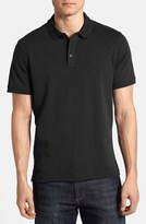 Nordstrom Men's Trim Fit Interlock Knit Polo