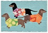 Trans-Ocean Front Porch Tropical Hounds Door Mat