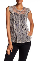 Zadig & Voltaire Tarya Deluxe Printed Silk Blouse