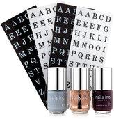 Nails Inc Monogram Manicure Collection