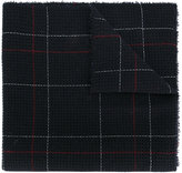 Stephan Schneider check pattern scarf
