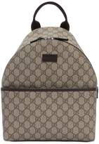 Gucci Gg Supreme Faux Leather Backpack
