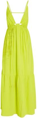 Jonathan Simkhai Calliope Cut-Out Midi Dress