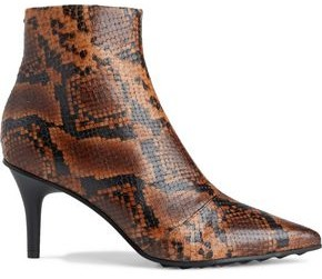 Rag & Bone Beha Snake-effect Leather Ankle Boots