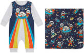 Gucci Baby space cats print gift set