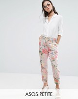 Asos Eastern Bloom Occasion Cigarette Pant