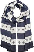 Tommy Hilfiger Women's Spw Logo Stripes Neckerchief