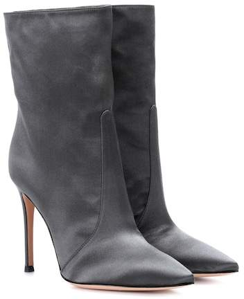 Gianvito Rossi Exclusive to mytheresa.com – Melanie satin ankle boots
