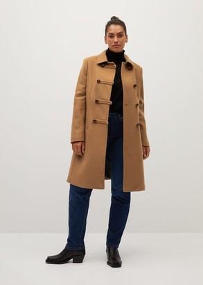 MANGO Virgin wool coat