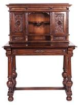 Toscano Chateau Secretary Desk with Hutch Design