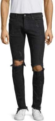 Palm Angels Distressed Skinny Jeans