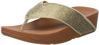 FitFlop Women Ritzy Toe Thong Sandals,(42 EU)