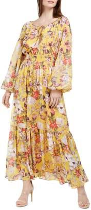 INC International Concepts Petite Floral-Print Maxi Dress