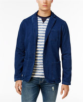 Weatherproof Vintage Men's Knit Denim Blazer, Only at Macy's