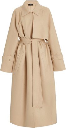 Joseph Cottrell Double-Faced Cashmere Trench Coat