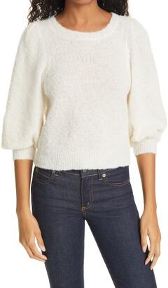 Rachel Comey Forbell Blouson Sleeve Alpaca Blend Sweater