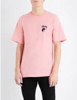 Stussy Yin yang-print cotton-jersey t-shirt