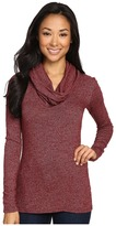 Three Dots Long Sleeve Cowl Neck Tunic