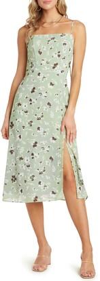 Willow Wendy Spaghetti Strap Midi Dress
