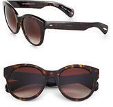 Oliver Peoples Jacey 53mm Oversized Oval Sunglasses
