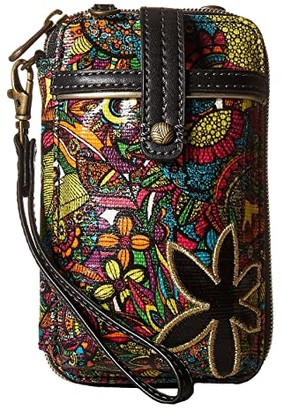 Sakroots Artist Circle Smartphone Wristlet (Rainbow Spirit Desert) Wristlet Handbags