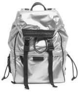 Stella McCartney Metallic Drawstring Backpack