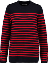 Sandro Smila striped knitted sweater