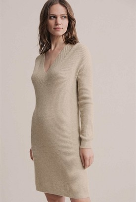 Witchery V Neck Sweater Dress