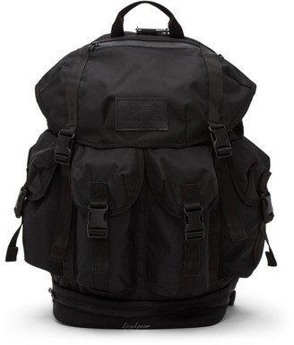 Yohji Yamamoto Black Four-Pocket Backpack