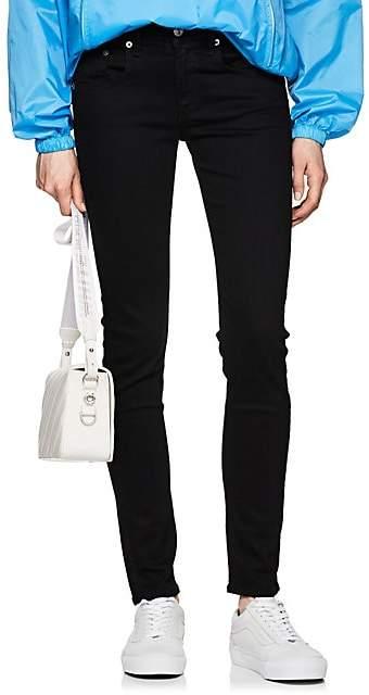 Rag & Bone Women's Mid-Rise Skinny Jeans - Black