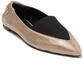 Mercedes Castillo Joay Leather Flat