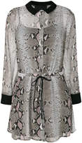 Philipp Plein Sullivan Goldie shirt dress