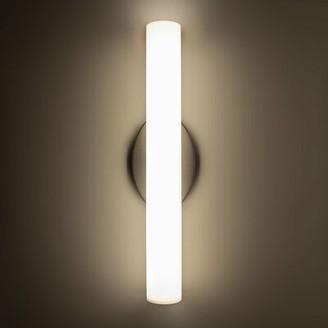 Modern Forms Loft 1-Light LED Bath Sconce Modern Forms Finish: Brushed Nickel