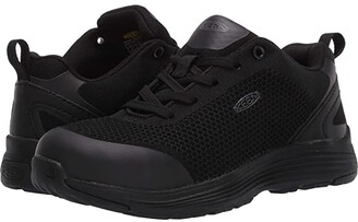 Keen Sparta Aluminum Toe (Black/Black) Women's Shoes