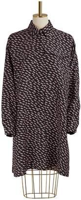 Kenzo Silk Dress With Pockets