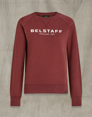 Belstaff RAGLAN SWEATSHIRT Red