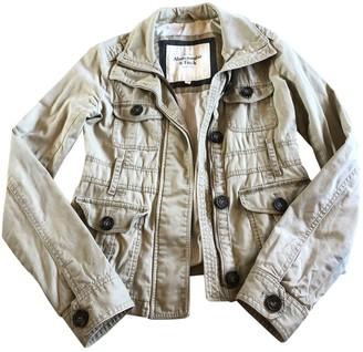 Abercrombie & Fitch Beige Cotton Coats
