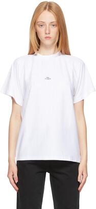 Won Hundred White Brooklyn Logo T-Shirt